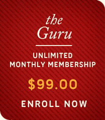 The Guru - Unlimited Monthly Membership - $99 - Enroll Now