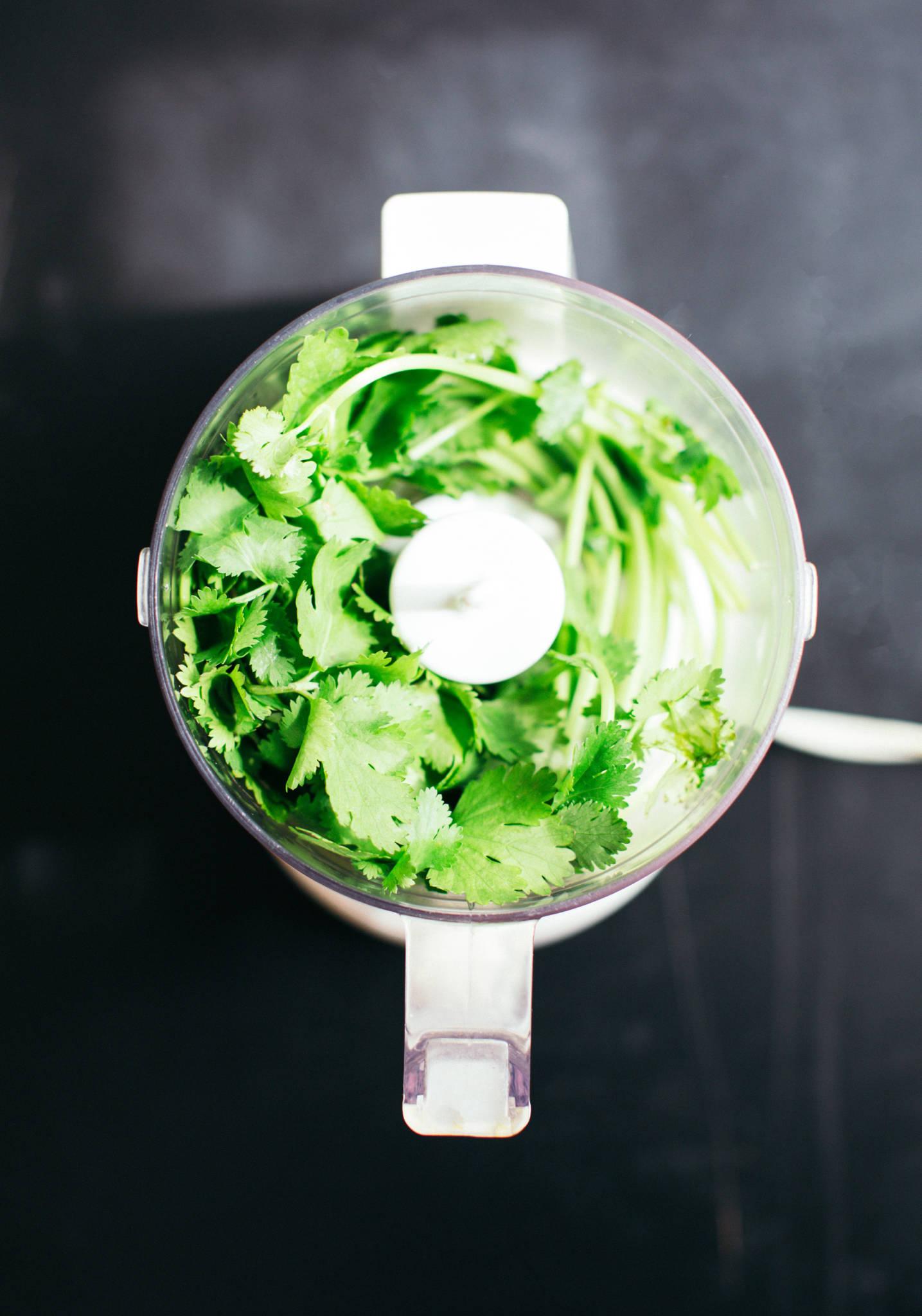 Spring Detox Cilantro Tahini Salad Dressing Recipe