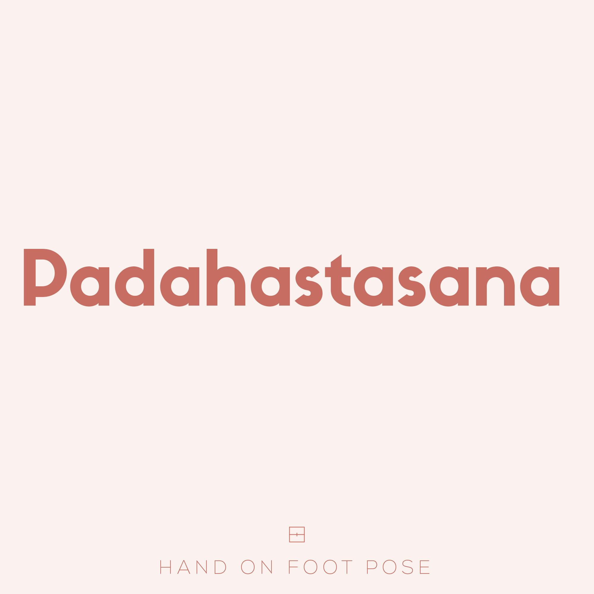 Sanskrit Definition Padahastasana