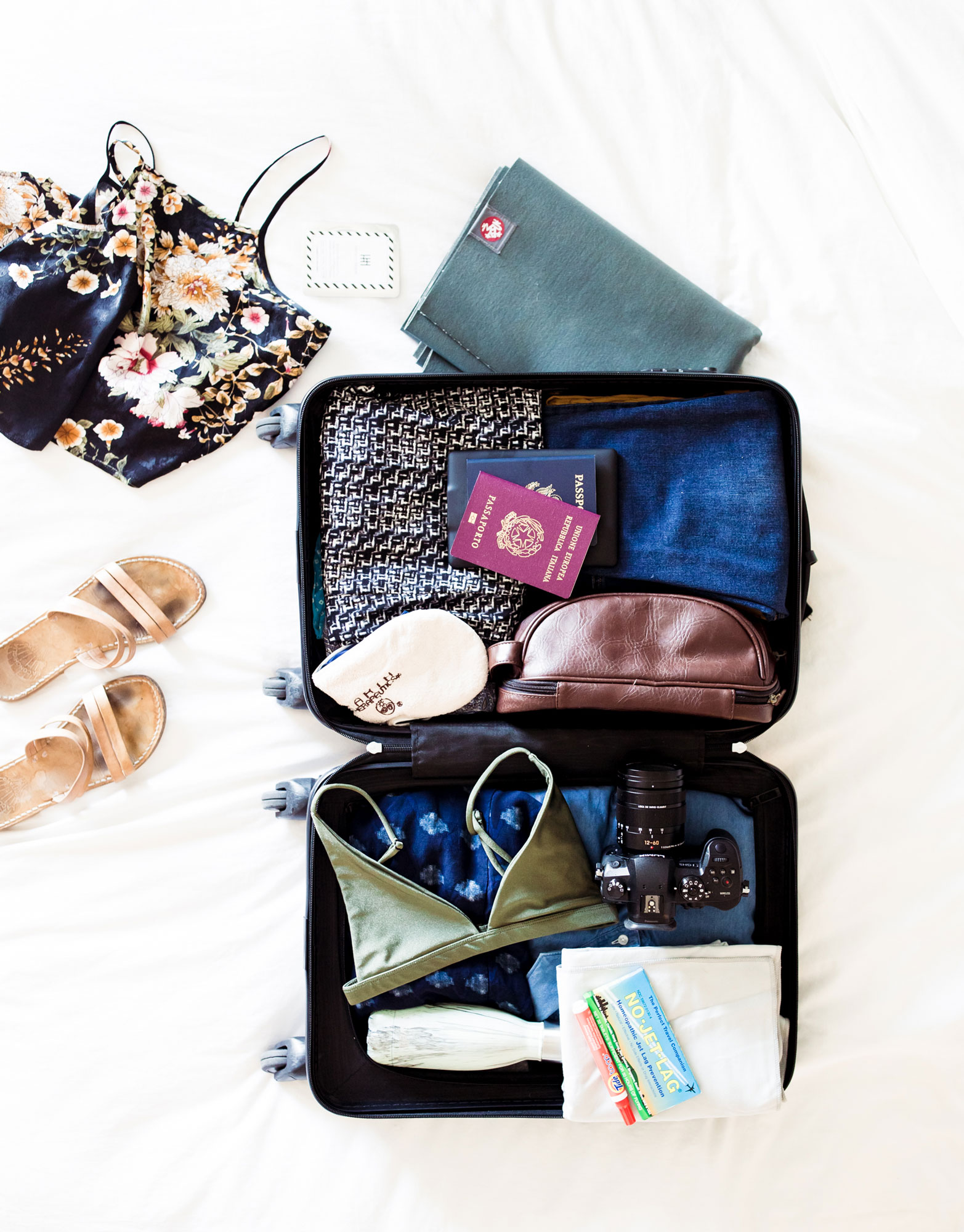 What to pack, wellness travel