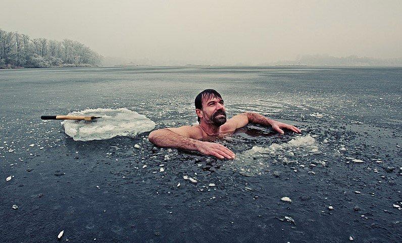 Wim Hof Ice Water