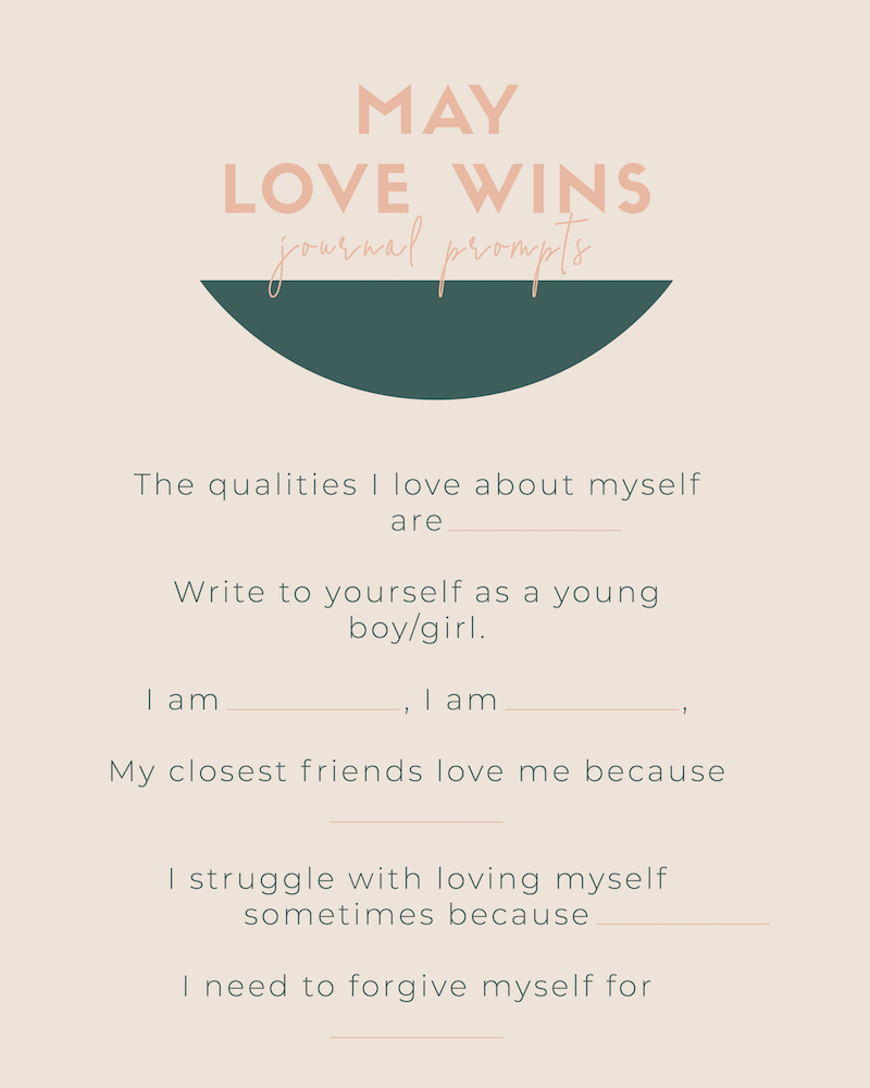 self love journal prompts self care
